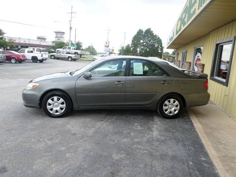 2004 Toyota Camry for sale at Credit Cars of NWA in Bentonville AR