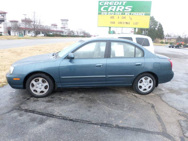 2002 hyundai elantra gls 4dr sedan in bentonville ar credit cars of nwa 2002 hyundai elantra gls 4dr sedan in