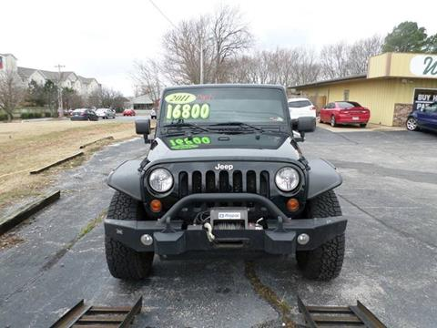 2011 Jeep Wrangler Unlimited for sale in Bentonville, AR