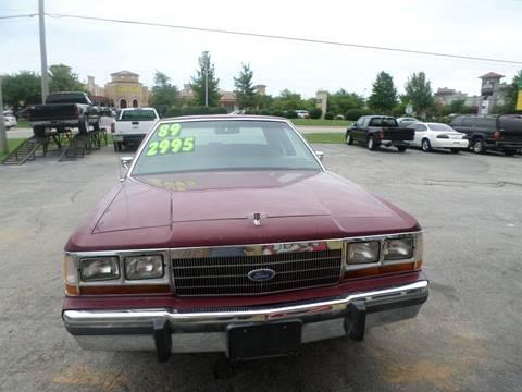 1989 Ford LTD Crown Victoria for sale in Bentonville, AR