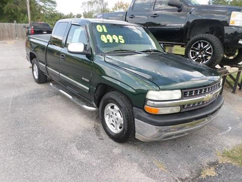 2001 Chevrolet Silverado 1500 for sale at Credit Cars of NWA in Bentonville AR