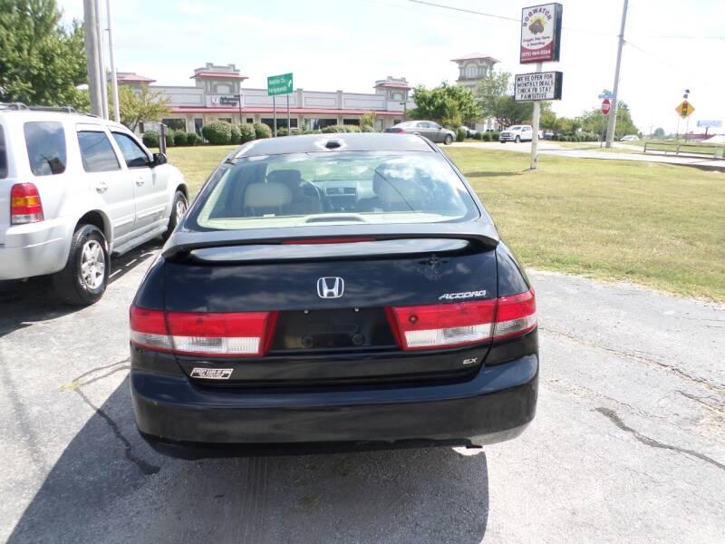 2004 Honda Accord EX 4dr Sedan w/Leather - Bentonville AR
