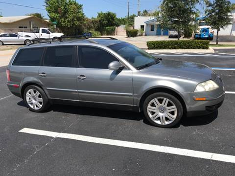 2005 Volkswagen Passat for sale at South Florida Luxury Auto in Pompano Beach FL