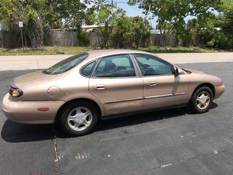 1996 Ford Taurus for sale at South Florida Luxury Auto in Pompano Beach FL