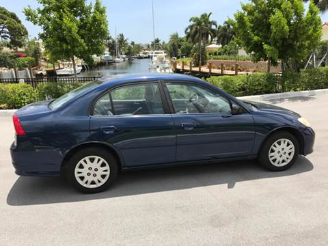 2004 Honda Civic for sale at South Florida Luxury Auto in Pompano Beach FL