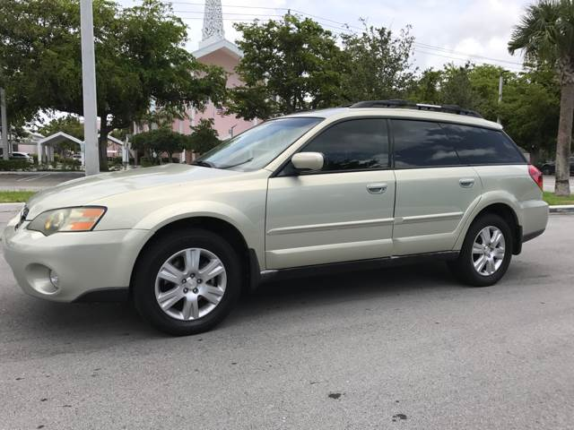 2005 Subaru Outback for sale at South Florida Luxury Auto in Pompano Beach FL