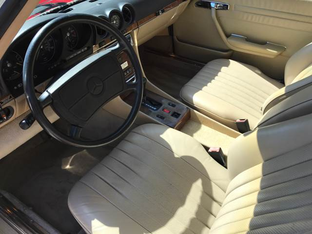 1986 Mercedes-Benz 560-Class for sale at South Florida Luxury Auto in Pompano Beach FL