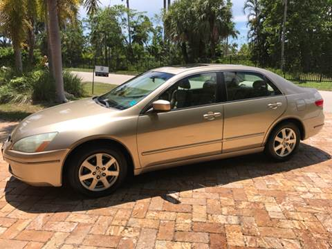 2005 Honda Accord for sale at South Florida Luxury Auto in Pompano Beach FL