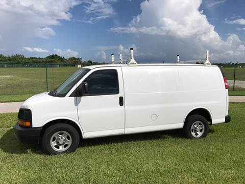 2006 Chevrolet Express Cargo for sale at South Florida Luxury Auto in Pompano Beach FL