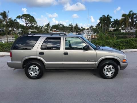 2002 Chevrolet Blazer for sale in Pompano Beach, FL