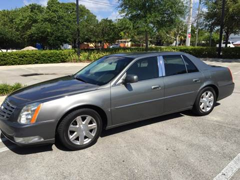 2007 Cadillac DTS for sale at South Florida Luxury Auto in Pompano Beach FL