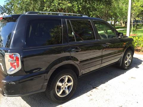 2006 Honda Pilot for sale at South Florida Luxury Auto in Pompano Beach FL