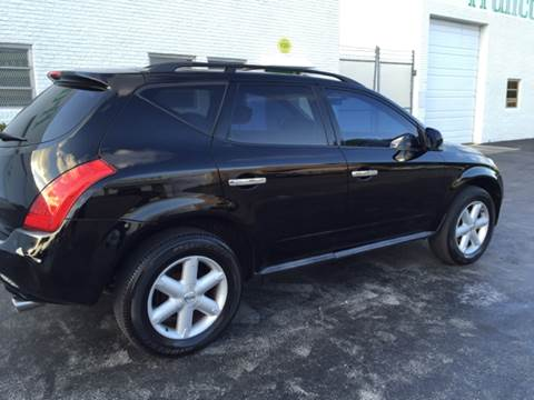 2005 Nissan Murano for sale at South Florida Luxury Auto in Pompano Beach FL