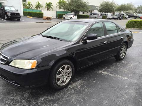 1999 Acura TL for sale at South Florida Luxury Auto in Pompano Beach FL