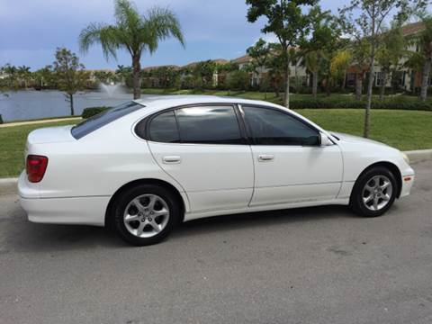 2002 Lexus GS 300 for sale at South Florida Luxury Auto in Pompano Beach FL