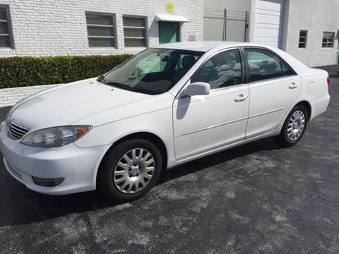 2006 Toyota Camry for sale at South Florida Luxury Auto in Pompano Beach FL