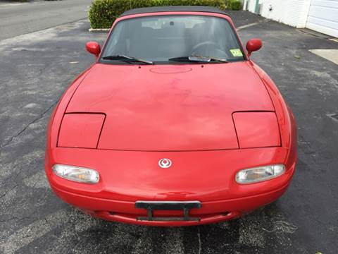 1996 Mazda MX-5 Miata for sale at South Florida Luxury Auto in Pompano Beach FL