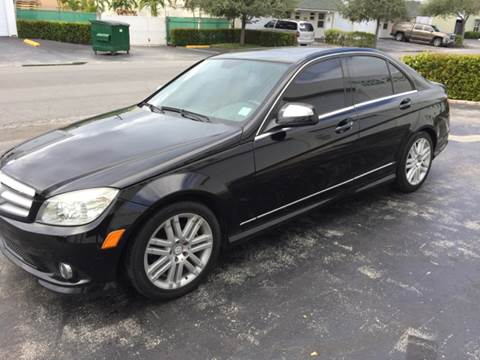 2009 Mercedes-Benz C-Class for sale at South Florida Luxury Auto in Pompano Beach FL