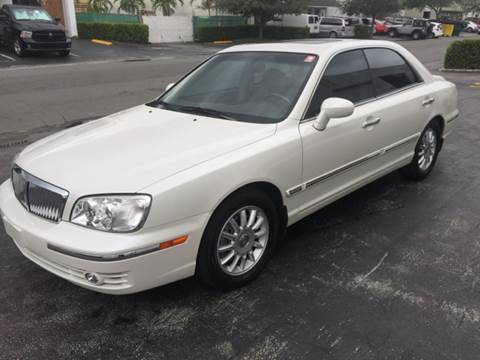2004 Hyundai XG350 for sale at South Florida Luxury Auto in Pompano Beach FL