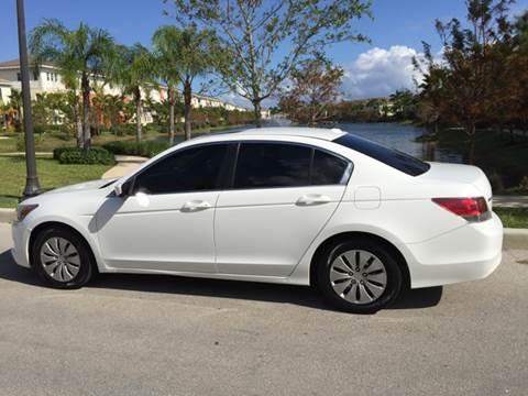 2008 Honda Accord for sale at South Florida Luxury Auto in Pompano Beach FL