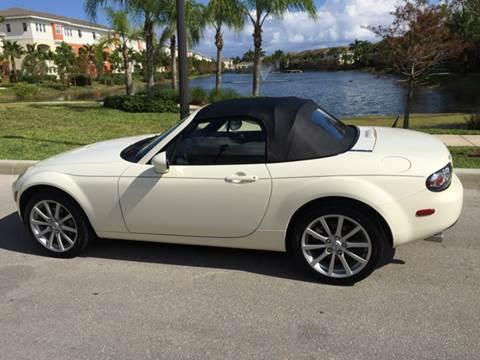 2006 Mazda MX-5 Miata for sale at South Florida Luxury Auto in Pompano Beach FL
