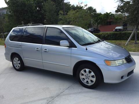 2003 Honda Odyssey for sale at South Florida Luxury Auto in Pompano Beach FL