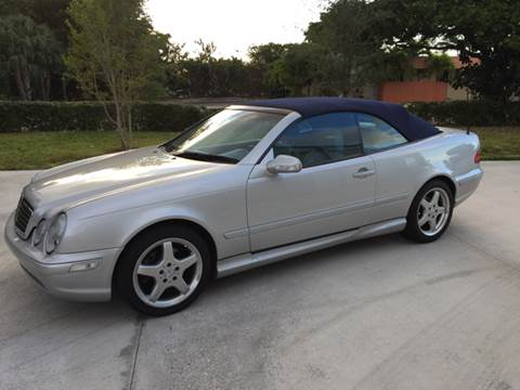 2002 Mercedes-Benz CLK for sale at South Florida Luxury Auto in Pompano Beach FL