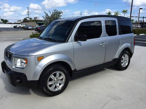 2006 Honda Element for sale at South Florida Luxury Auto in Pompano Beach FL