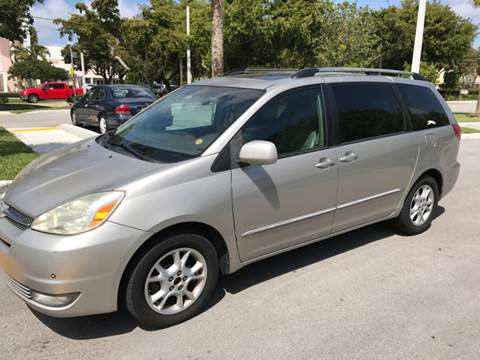 2005 Toyota Sienna for sale at South Florida Luxury Auto in Pompano Beach FL