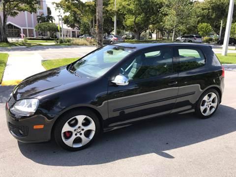2008 Volkswagen GTI for sale at South Florida Luxury Auto in Pompano Beach FL