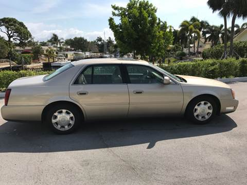 2005 Cadillac DeVille for sale at South Florida Luxury Auto in Pompano Beach FL