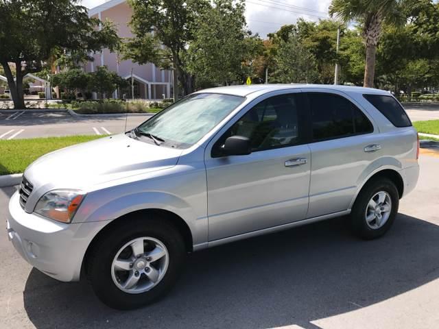 2007 Kia Sorento for sale at South Florida Luxury Auto in Pompano Beach FL