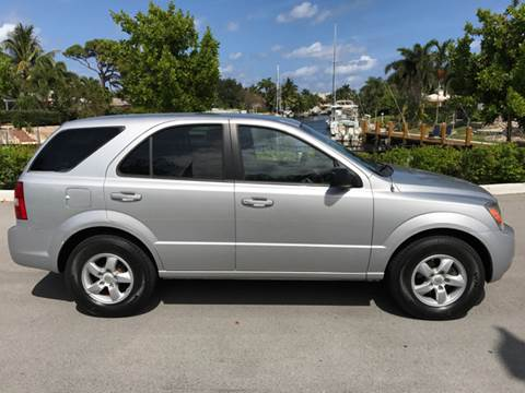 2007 Kia Sorento for sale at South Florida Luxury Auto in Pompano Beach FL