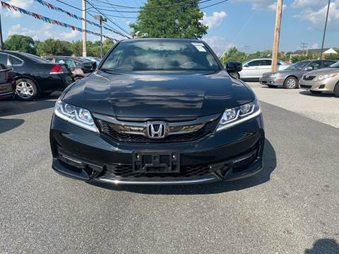2016 Honda Accord for sale in New Castle, DE