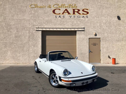 1983 Porsche 911 SC for sale at Classic & Collectible Cars in Las Vegas NV