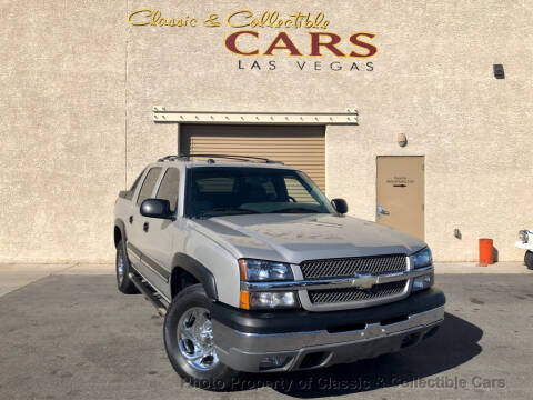 2004 Chevrolet Avalanche 1500 for sale at Classic & Collectible Cars in Las Vegas NV