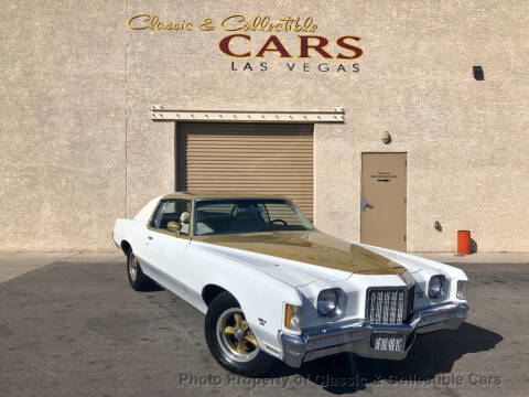 1972 Pontiac Grand Prix for sale at Classic & Collectible Cars in Las Vegas NV