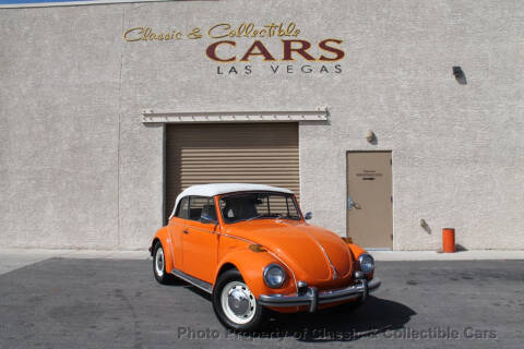 1972 Volkswagen Beetle for sale at Classic & Collectible Cars in Las Vegas NV