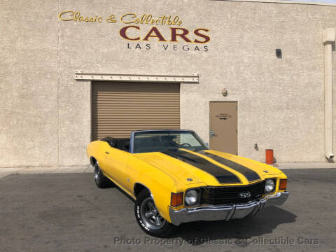 1972 Chevrolet Chevelle for sale at Classic & Collectible Cars in Las Vegas NV