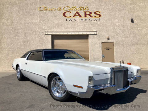 1972 Lincoln Continental for sale at Classic & Collectible Cars in Las Vegas NV