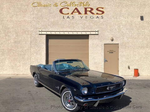 1966 Ford Mustang for sale at Classic & Collectible Cars in Las Vegas NV