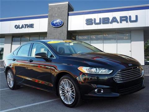 2014 Ford Fusion for sale in Olathe, KS