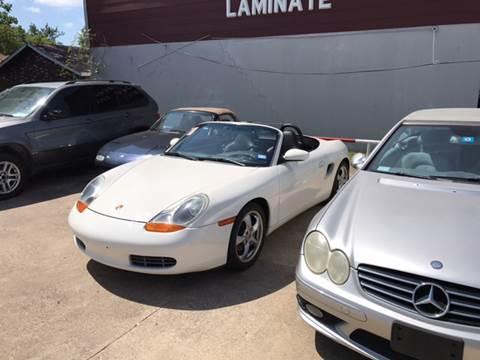 2001 Porsche Boxster for sale in Sachse, TX