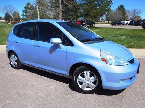 2008 Honda Fit for sale at Denver Auto Company in Parker CO