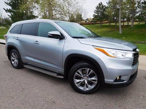 2014 Toyota Highlander for sale at Denver Auto Company in Parker CO