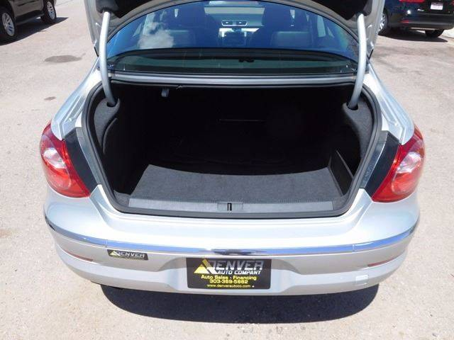 2012 Volkswagen CC for sale at Denver Auto Company in Parker CO