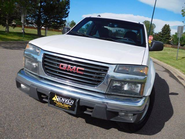 2005 GMC Canyon for sale at Denver Auto Company in Parker CO