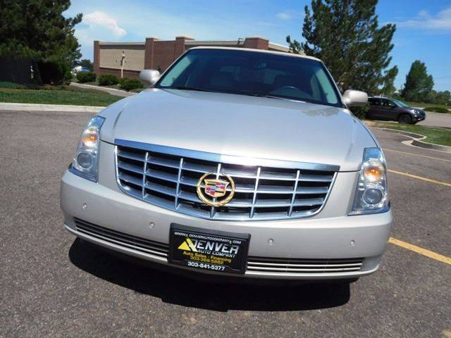 2007 Cadillac DTS for sale at Denver Auto Company in Parker CO