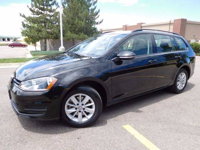 2016 Volkswagen Golf SportWagen for sale at Denver Auto Company in Parker CO