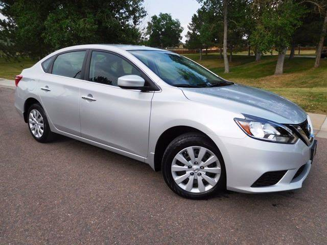 2016 Nissan Sentra for sale at Denver Auto Company in Parker CO